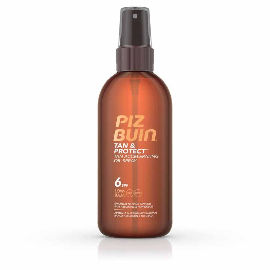 Piz Buin Tan&Protect Oil Spray SPF 6