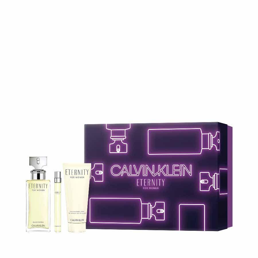 Calvin Klein CK Eternity Woman EDP 100ml + BODY LOTION 100ml + PEN SPRAY 10ml