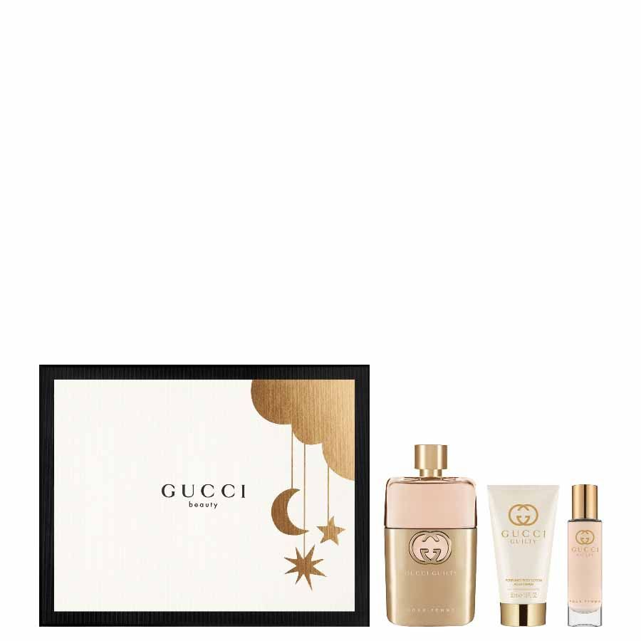 Gucci Gucci Guilty Pour Femme EDP 90ml + TRAVEL SPRAY 15ml + BODY LOTION 50ml