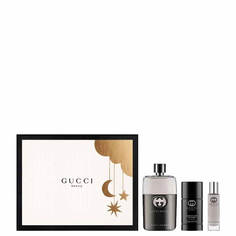 Gucci Gucci Guilty Pour Homme EDT 90ml + TRAVEL SPRAY 15 ml + DEO STICK 75ml