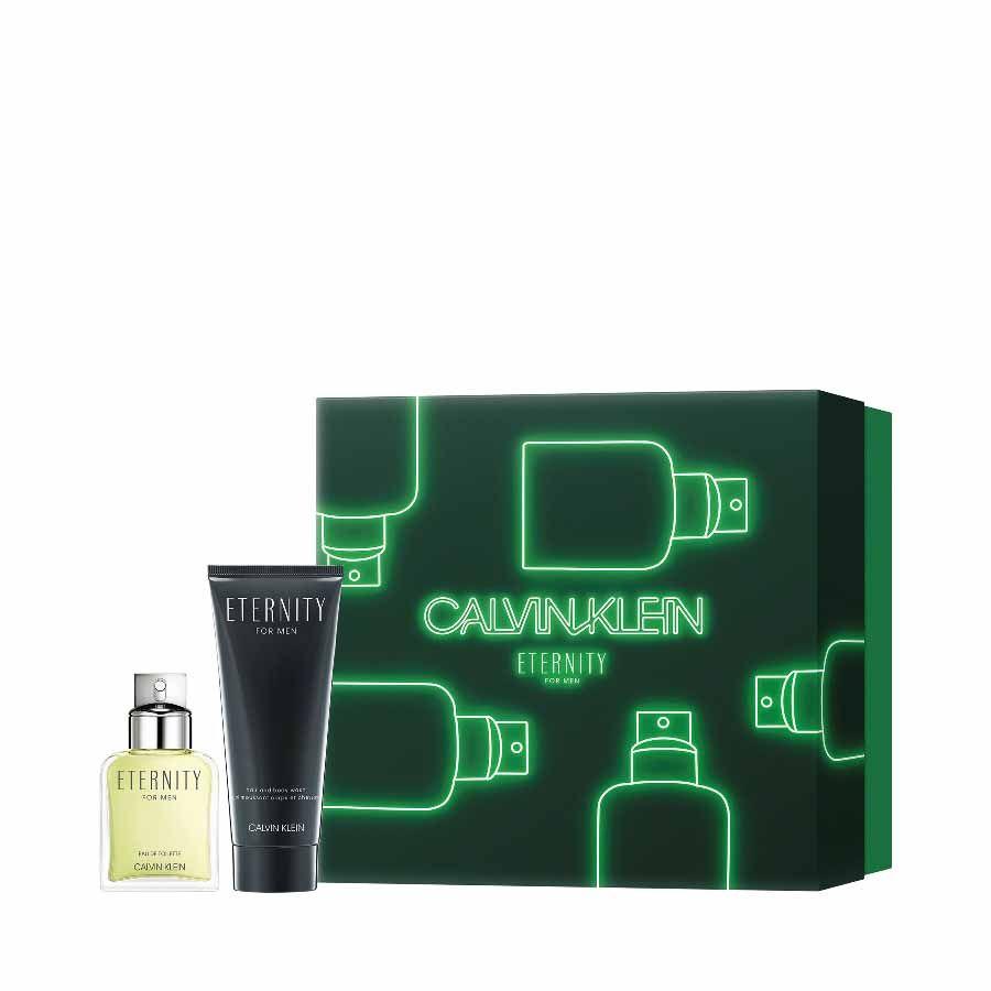 Calvin Klein CK Eternity for Men EDT 50ml + SHOWER GEL 100ml