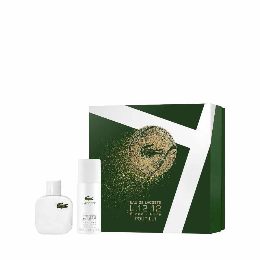 Lacoste Lacoste L.12.12 Blanc EDT 50ml + DEO SPRAY 150ml