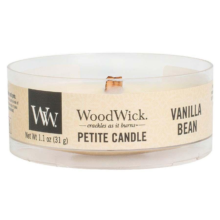 Woodwick Woodwick Vanilla Bean svíčka petite