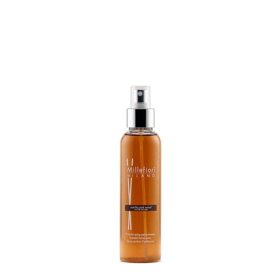 Millefiori Millefiori Natural Vanilla & Wood bytový sprej 150 ml
