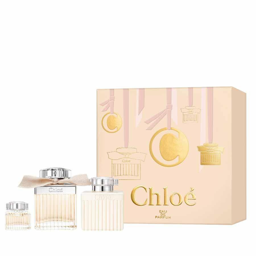 Chloé Chloé EDP 75ml + BODY LOTION 100ml + mini EDP 5ml