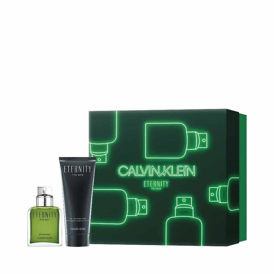 Calvin Klein CK Eternity Eau de Parfum for Men EDP 50ml + SHOWER GEL 100ml