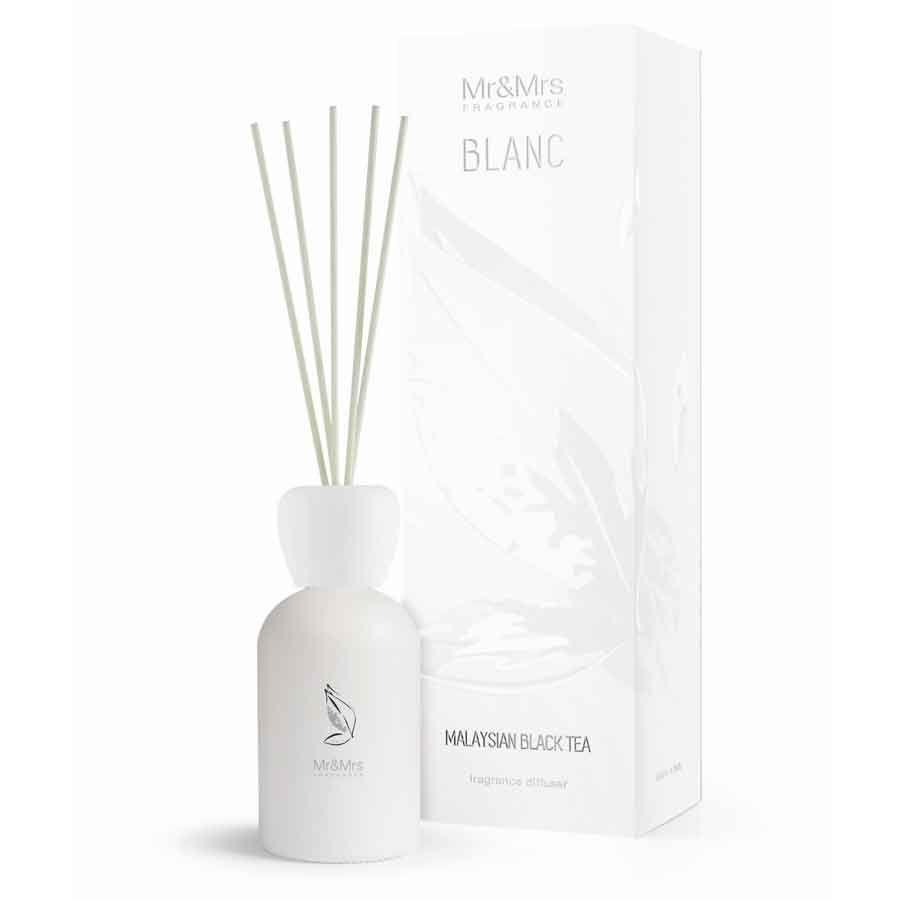 Mr & Mrs Fragrance Blanc Difuzér - Malaysian Black Tea (Černý Čaj)