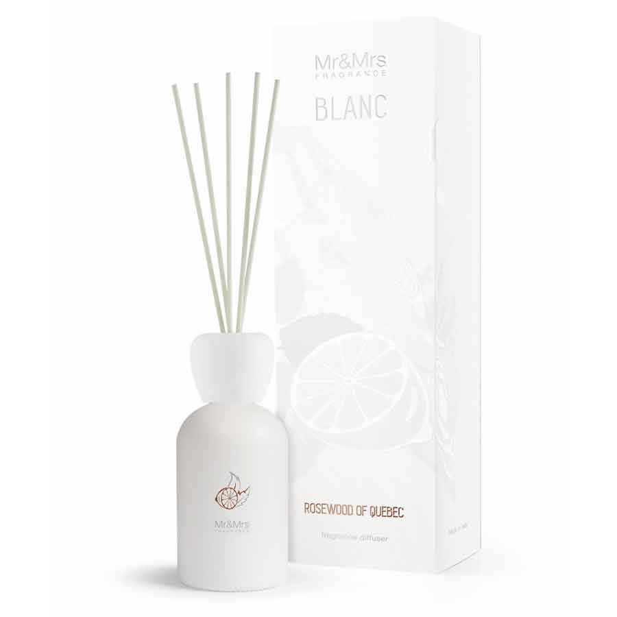 Mr & Mrs Fragrance Blanc Difuzér - Rosewood Of Quebec (Palisandr)