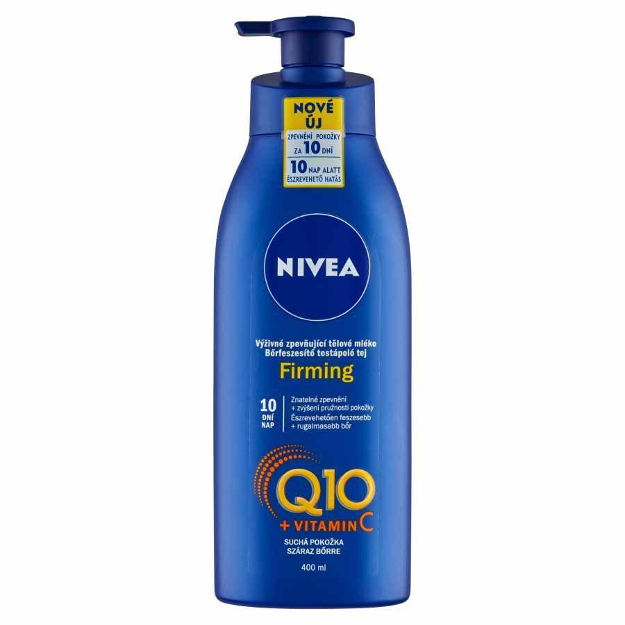 Nivea Nivea Výživné spevňujúce telové mlieko Q10 Energy