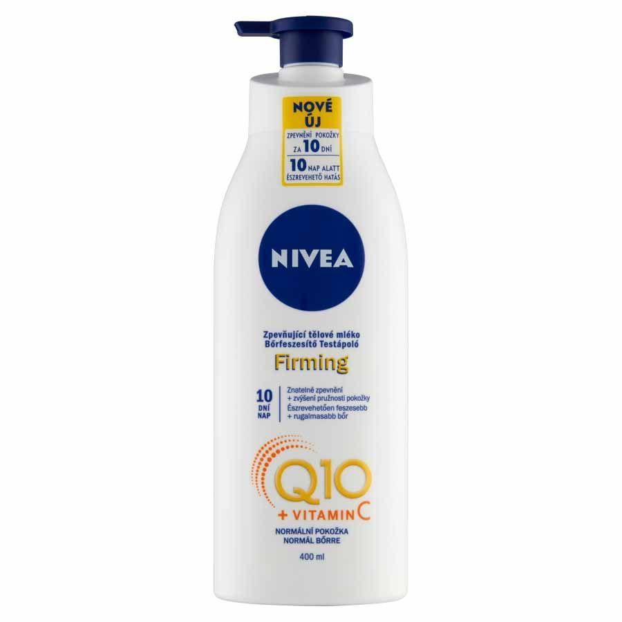 Nivea Zpevňující tělové mléko Q10 Energy