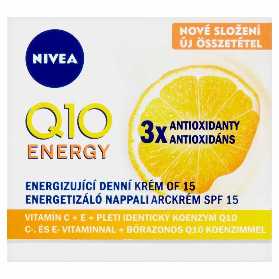 Nivea Nivea Energizujúci denný krém proti vráskam Q10