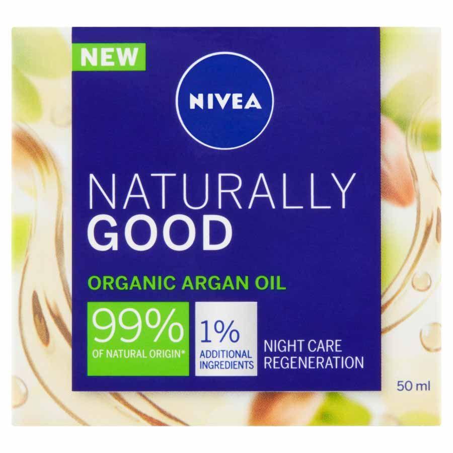 Nivea Nivea Regeneračný nočný krém Naturally Good