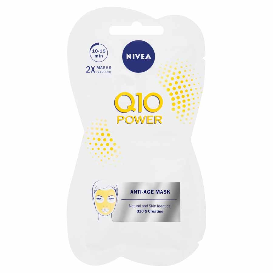 Nivea Vyhlazující maska proti vráskám Q10 Power