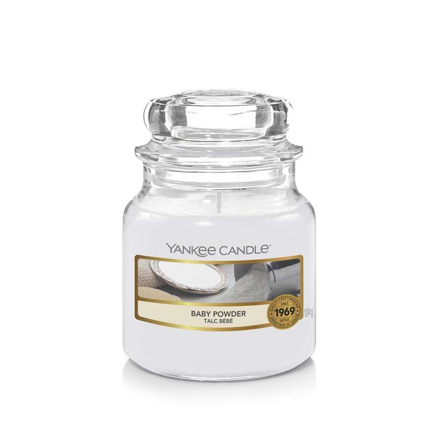 Yankee Candle Baby Powder vonná svíčka classic malý