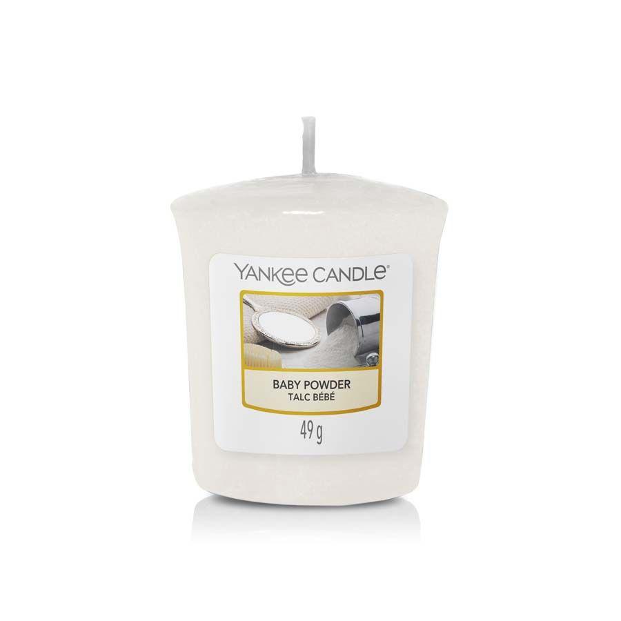 Yankee Candle Baby Powder vonná svíčka votivní