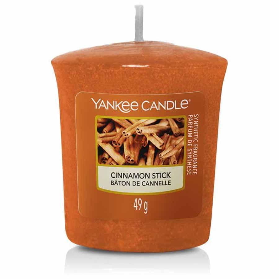 Yankee Candle Cinnamon Stick vonná svíčka votivní