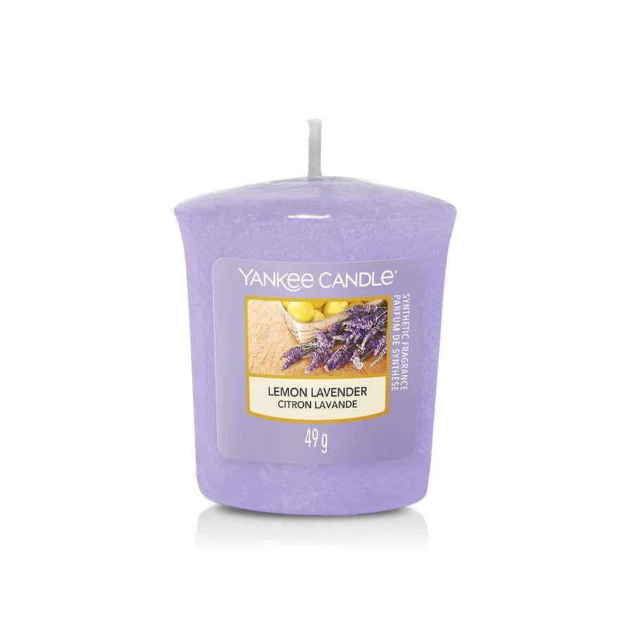Yankee Candle Lemon Lavender vonná svíčka votivní