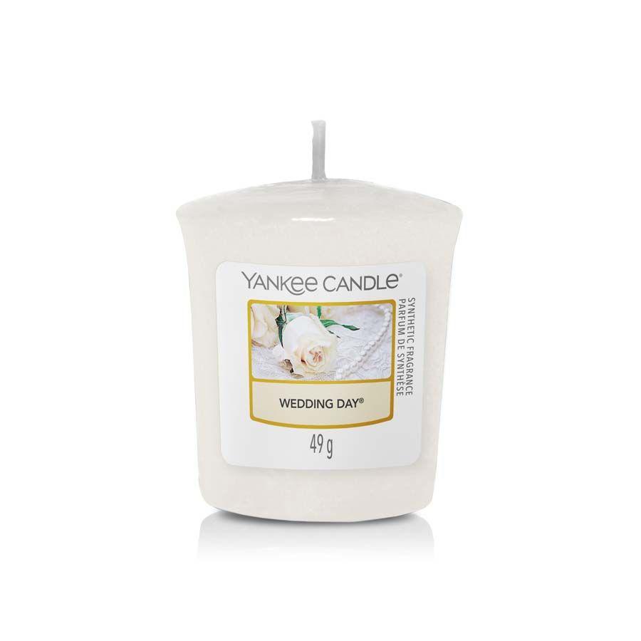 Yankee Candle Wedding Day vonná svíčka votivní
