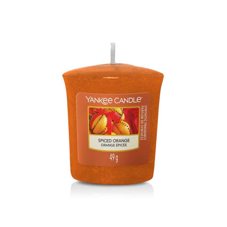 Yankee Candle Spiced Orange vonná svíčka votivní