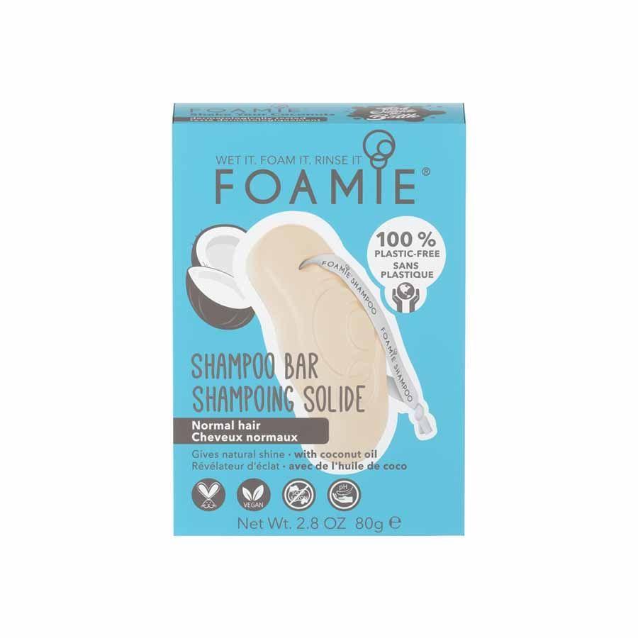 FOAMIE Shampoo Bar Shake Your Coconuts (gloss shampoo for normal hair)