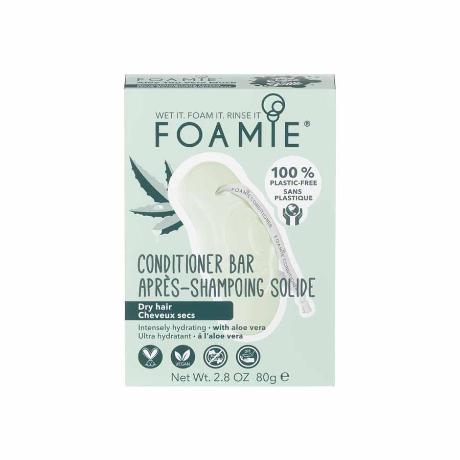 FOAMIE Conditioner Bar - Aloe You Vera Much (for dry hair)