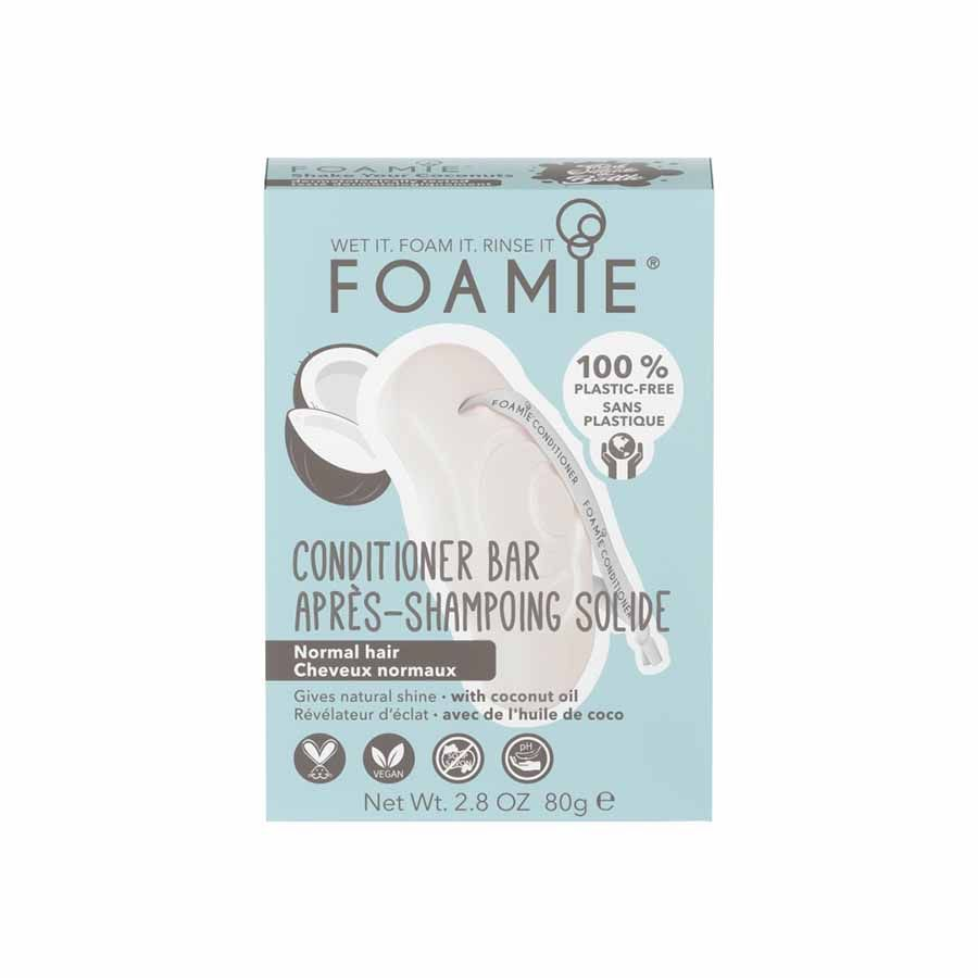 FOAMIE Conditioner Bar - Shake Your Coconuts (for normal hair, for natural shine)