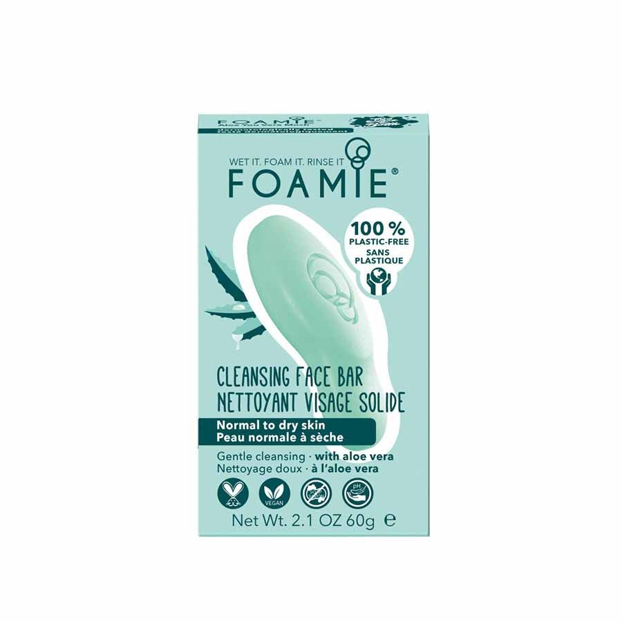 FOAMIE Cleansing Face Bar Aloe You Vera Much