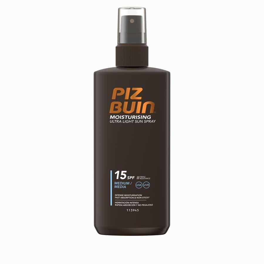 Piz Buin Moisturizing Ultra Light Spray SPF15