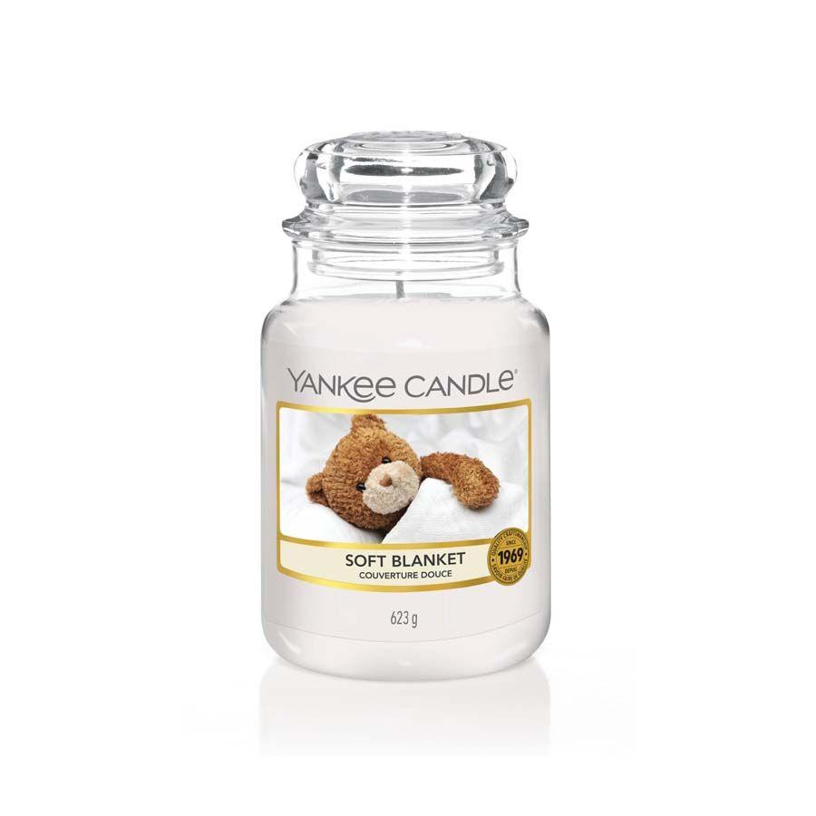 Yankee Candle Soft Blanket vonná svíčka classic velký