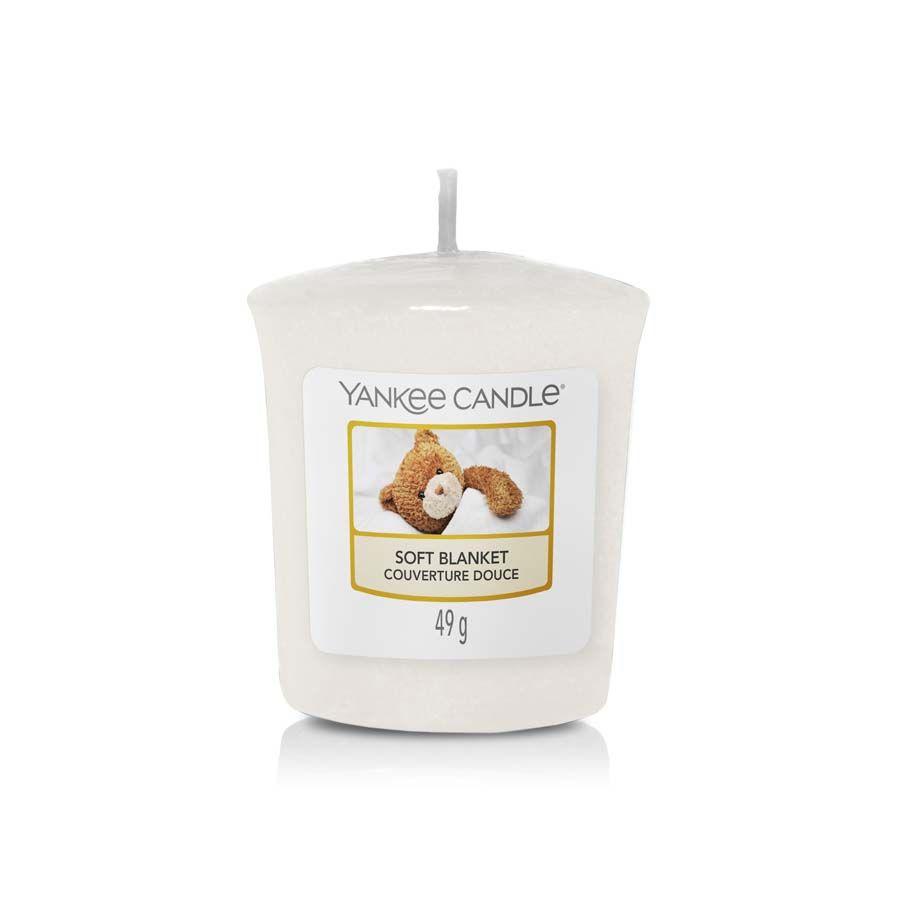 Yankee Candle Soft Blanket vonná svíčka votivní