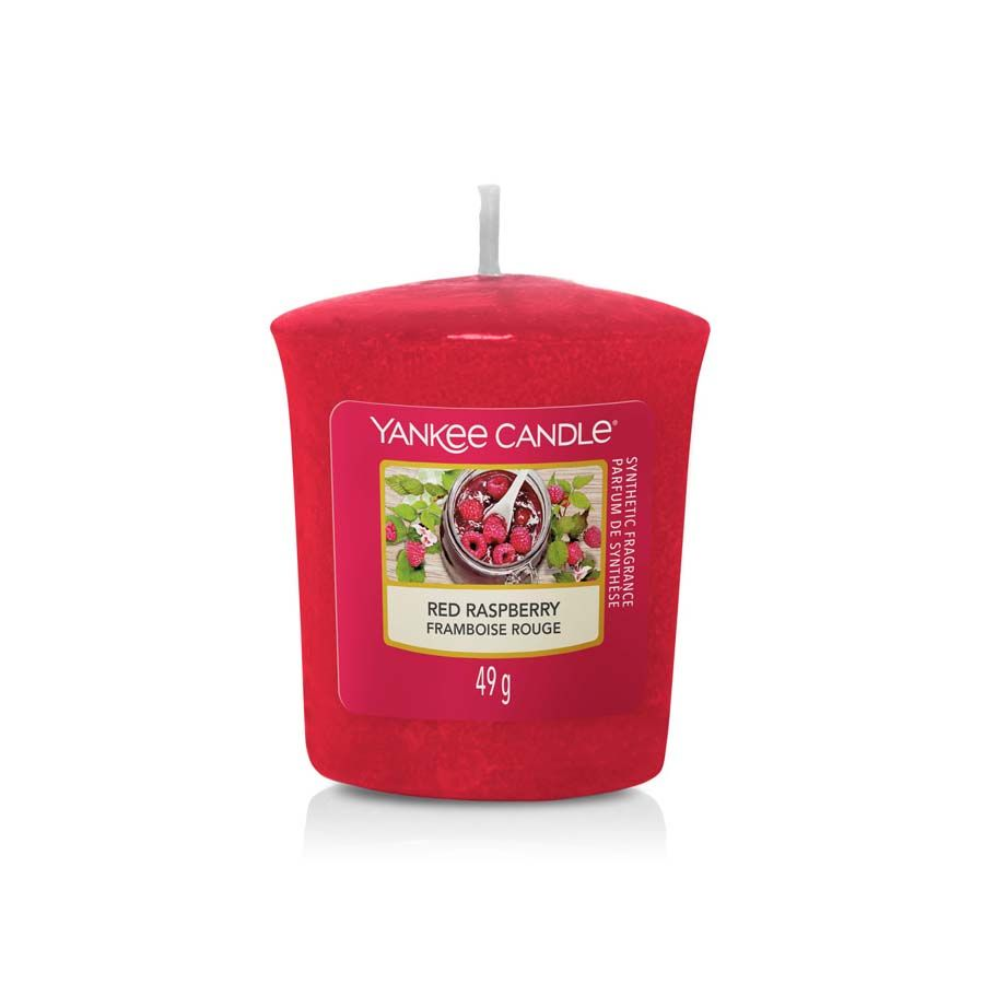 Yankee Candle Red Raspberry vonná svíčka votivní