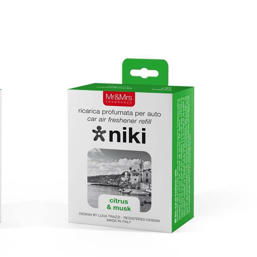 Mr & Mrs Fragrance Niki Citrus & Musk náhradní náplň
