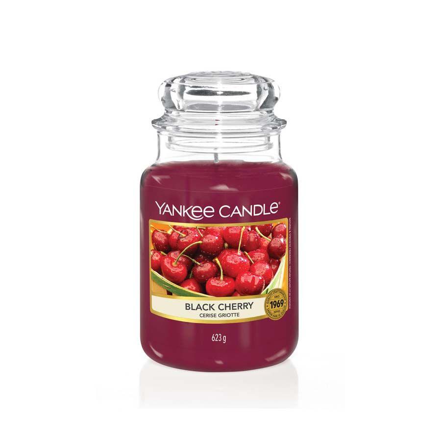 Yankee Candle Black Cherry vonná svíčka classic velký