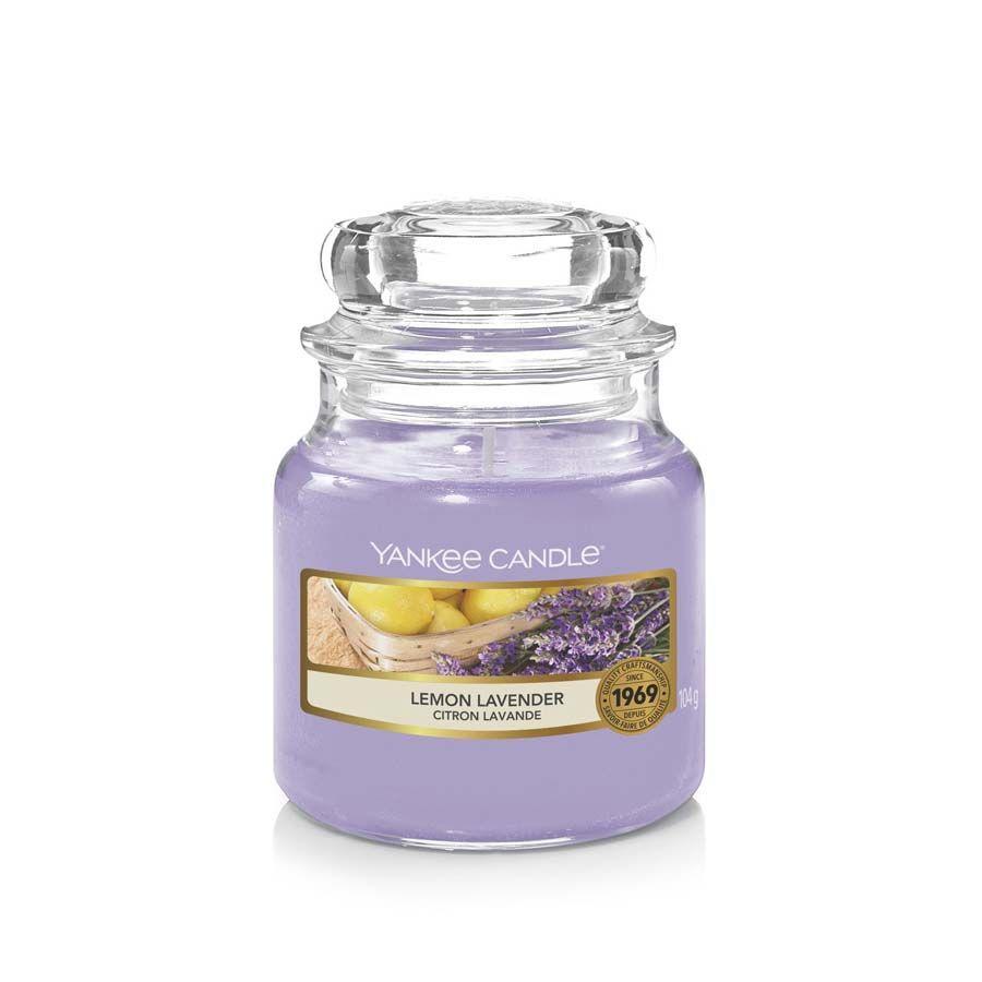 Yankee Candle Lemon Lavender vonná svíčka classic malý