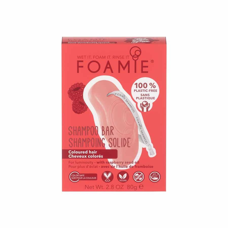 FOAMIE Shampoo Bar The Berry Best (color protect shampoo for colored hair)