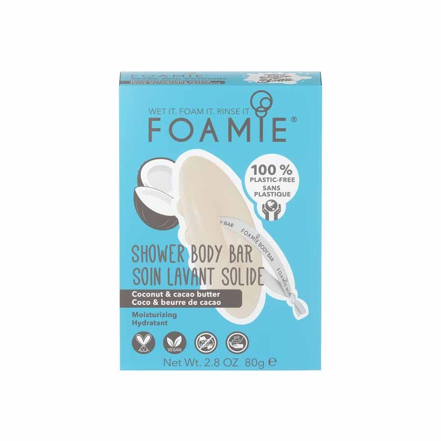 FOAMIE Shower Body Bar Shake Your Coconuts With Coconut Oil (Moisturizing)
