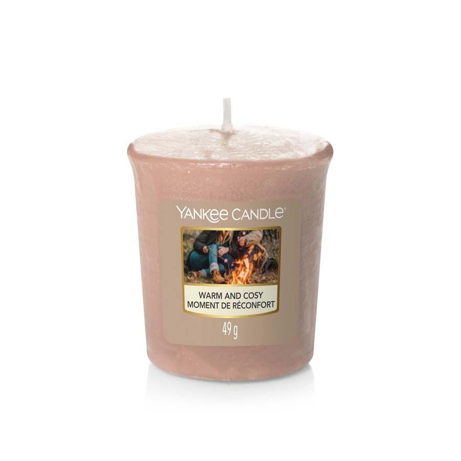Yankee Candle Warm&Cosy vonná svíčka votivní