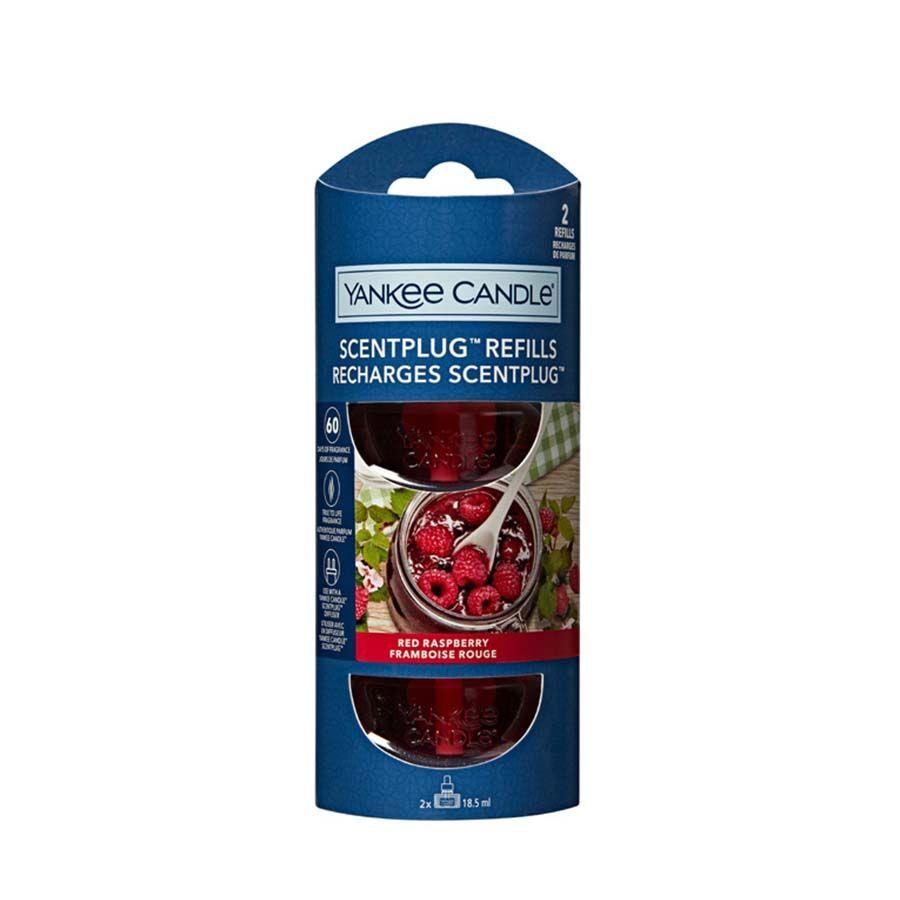 Yankee Candle Red Raspberry náhradní náplň (2ks) pro vůni do elektrické zásuvky