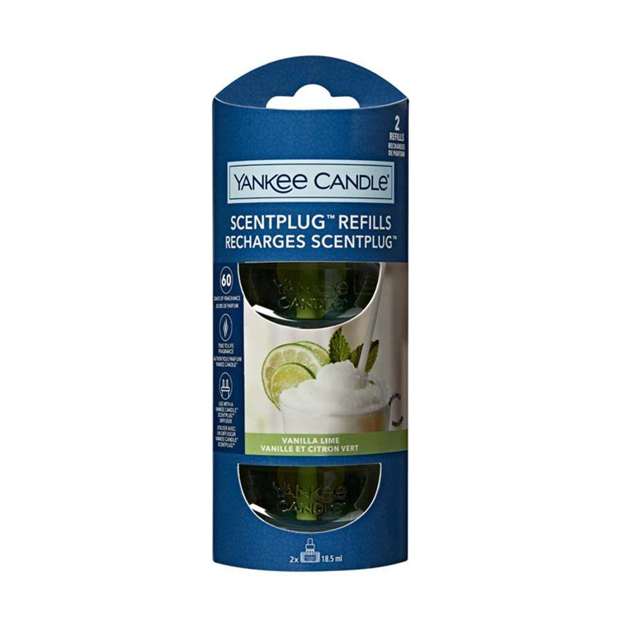 Yankee Candle Vanilla Lime náhradní náplň (2ks) pro vůni do elektrické zásuvky