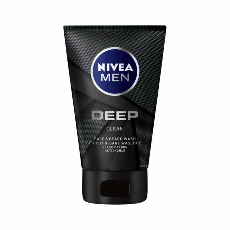 Nivea Men Deep Clean Face & Beard Wash