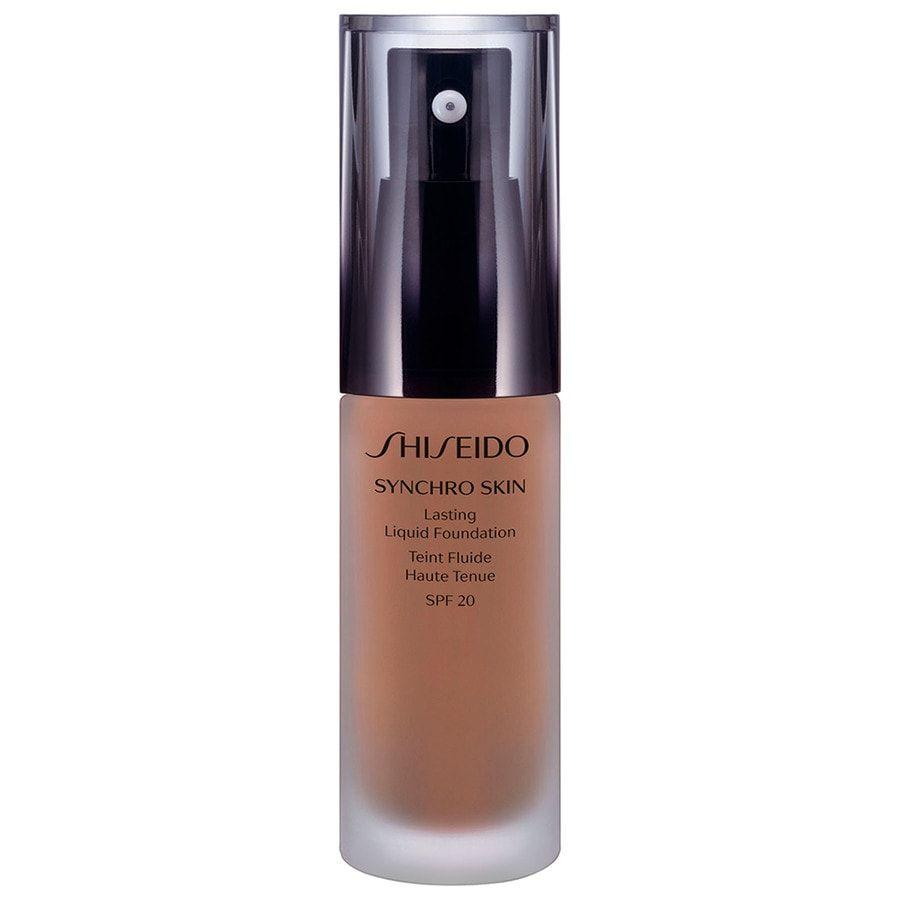 Shiseido Synchro Skin Lasting Liquid Foundation LSF 20