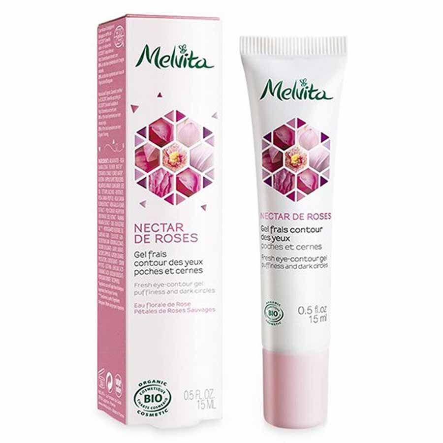 Melvita Nectar de Roses Fresh Eye Contour Gel