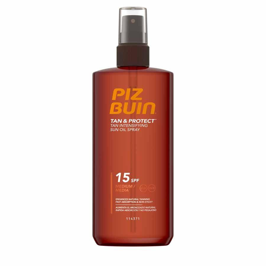 Piz Buin Tan&Protect Oil Spray SPF 15