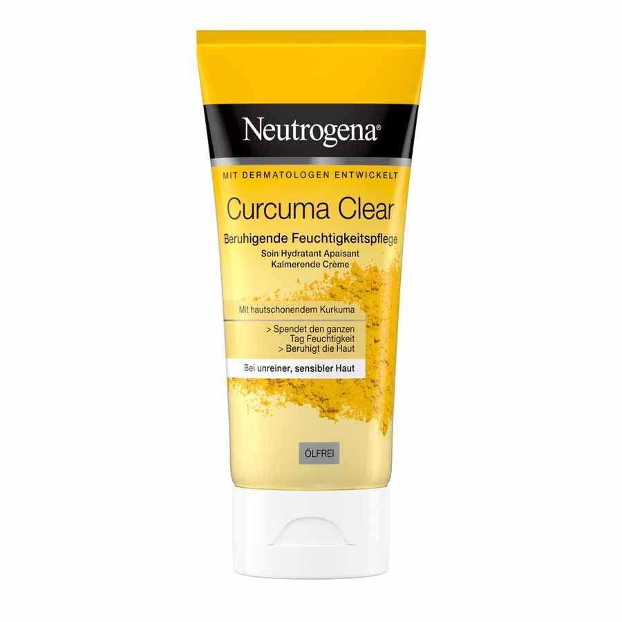 Neutrogena Curcuma Clear hydratační krém bez obsahu oleje