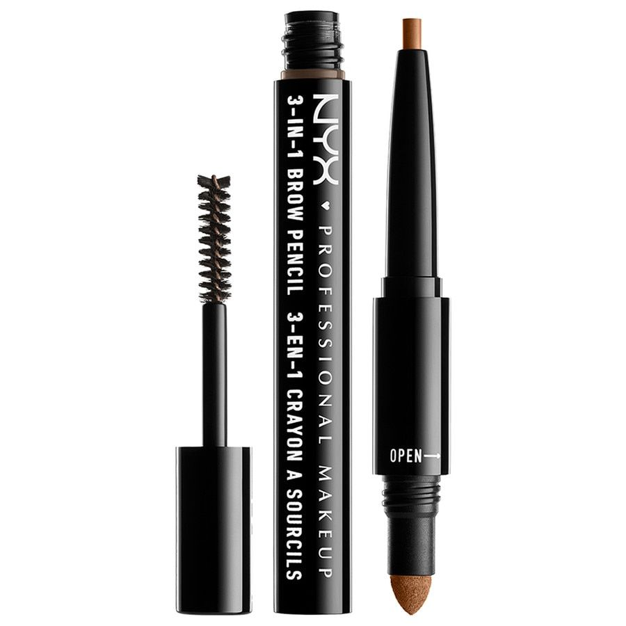 NYX Professional Makeup 3-in-1 Brow Pencil