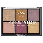NYX Professional Makeup Cosmic Metals Shadow paletka