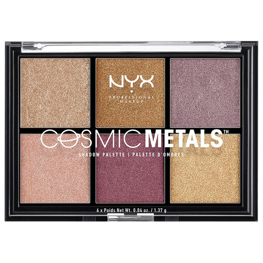 NYX Professional Makeup Cosmic Metals Shadow paletka