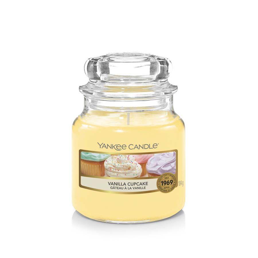 Yankee Candle Vanilla Cupcake vonná svíčka classic malý