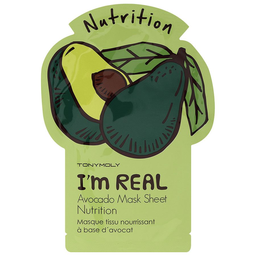 Tonymoly I'm Real Avocado Sheet Mask
