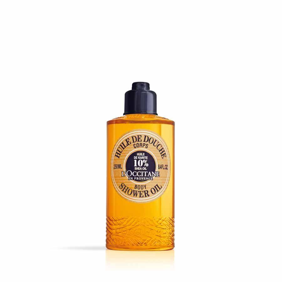 L'Occitane Sprchový olej Bambucké máslo